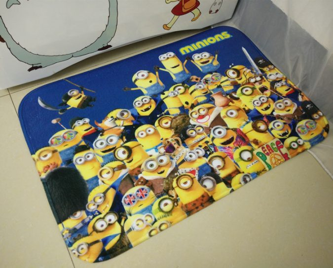 Minions-bathroom-rug4-675x543 25+ Cutest Kids Bathroom Rugs for 2018