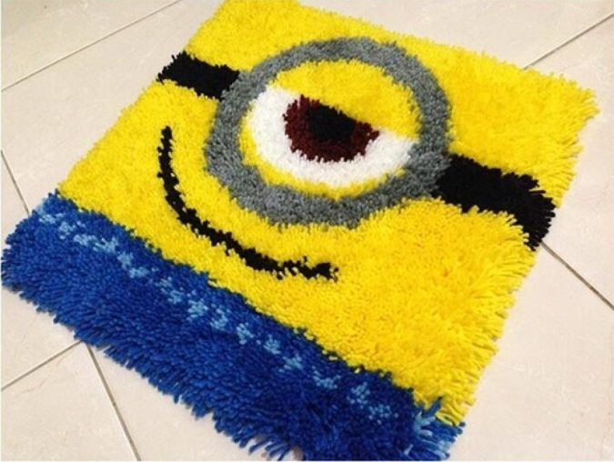 Minions-rug-675x508 25+ Cutest Kids Bathroom Rugs for 2018