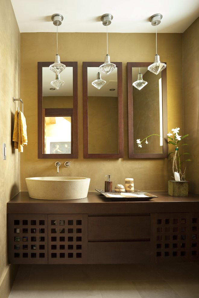 Multiple-Mirrors2 Latest Trends: Best 27+ Bathroom Mirror Designs