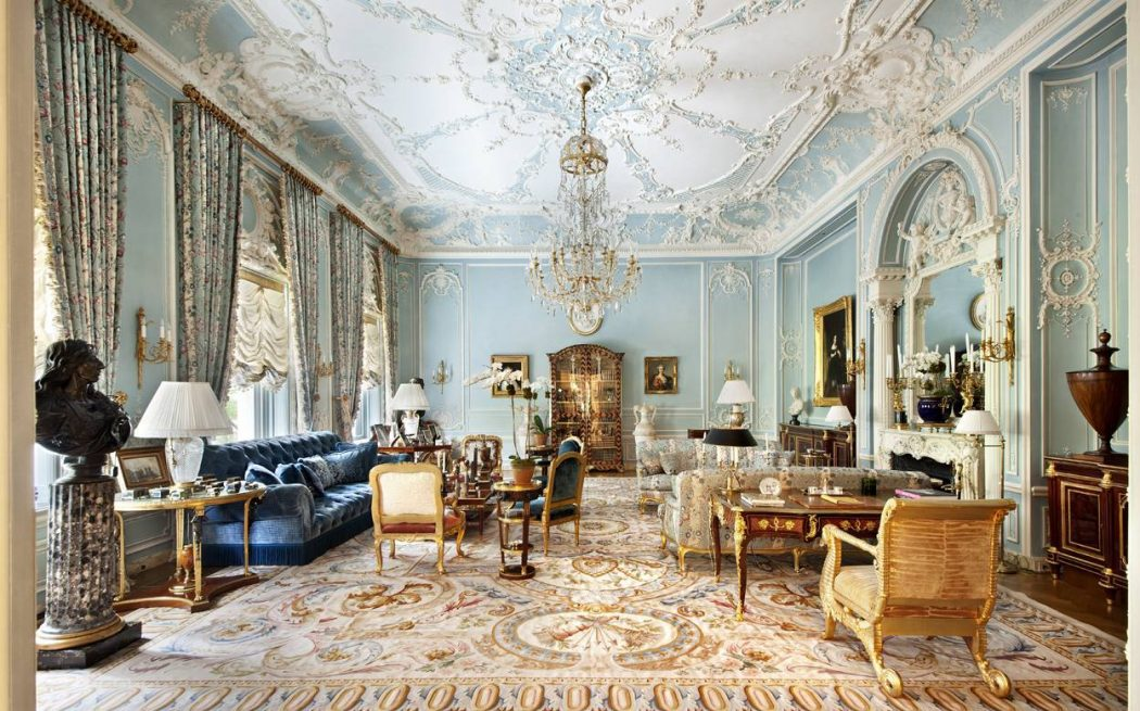 Patterned-Ceiling1 7 Ceilings Design Ideas For 2018