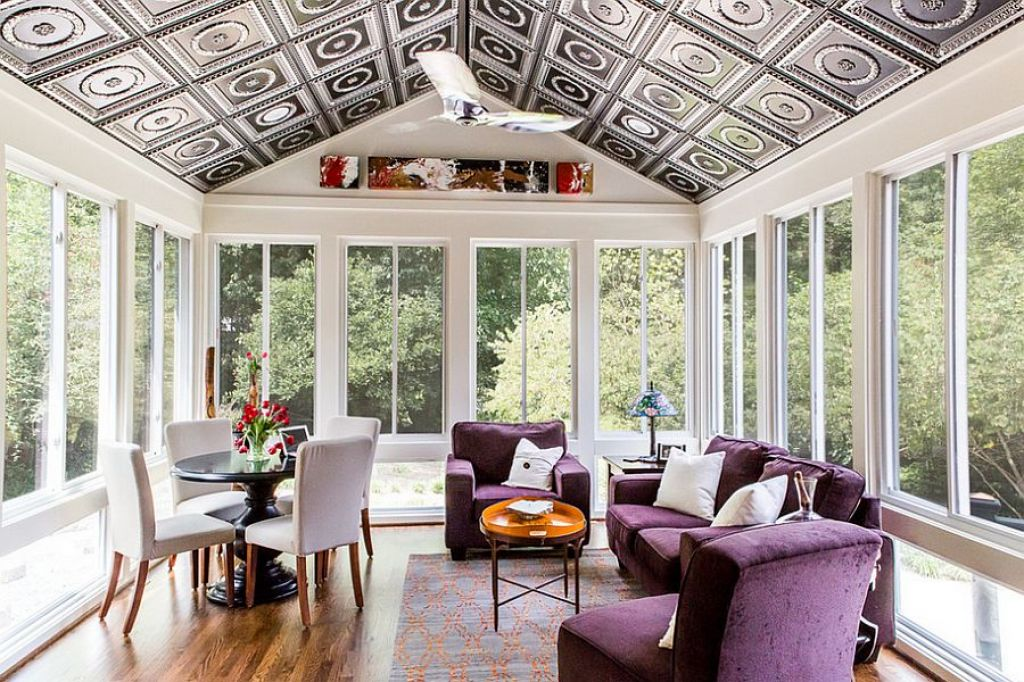 Patterned-Ceiling2 7 Ceilings Design Ideas For 2018