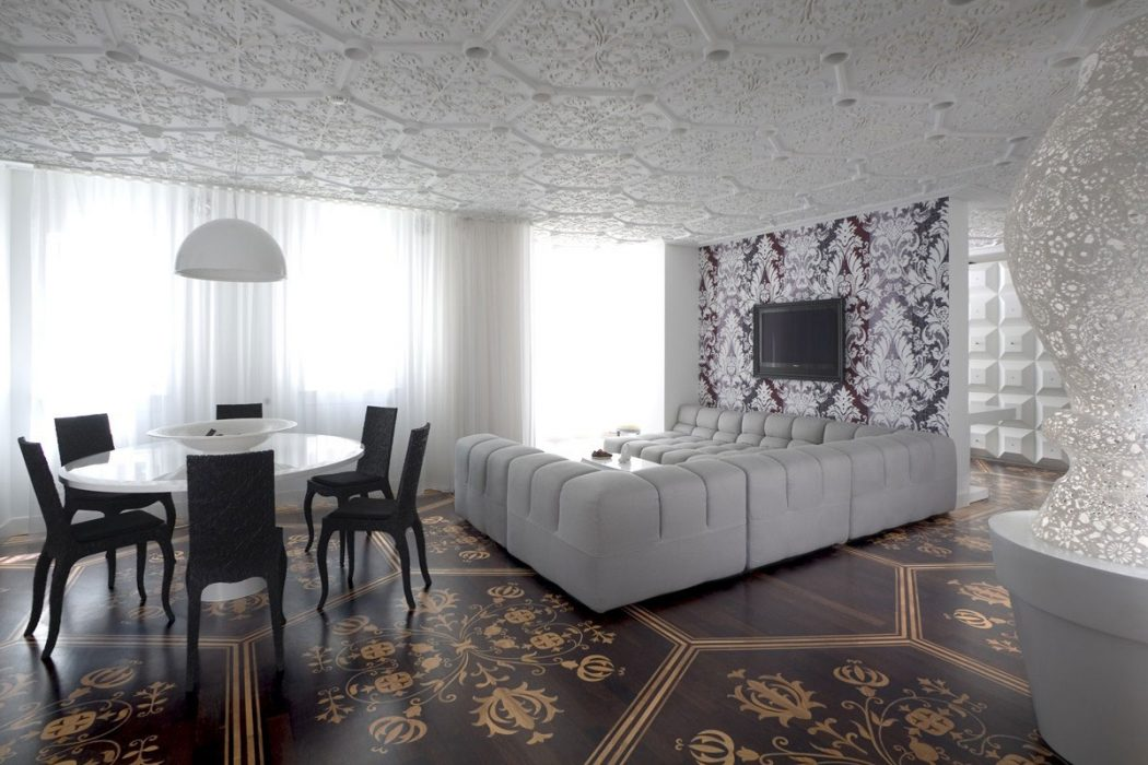 Patterned-Ceiling3 7 Ceilings Design Ideas For 2020