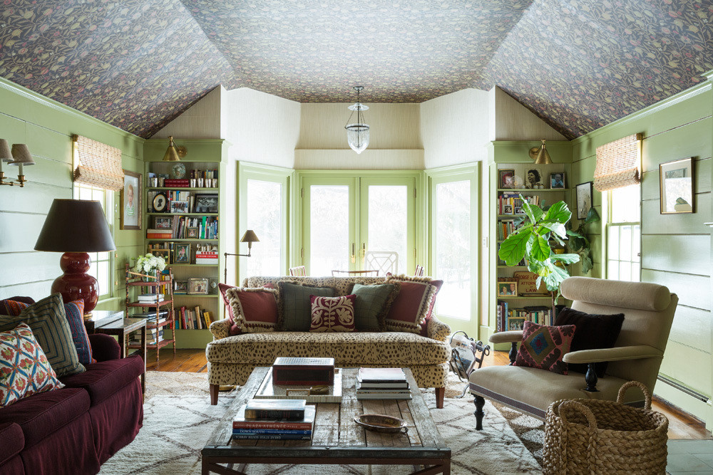 Patterned-Ceiling4 7 Ceilings Design Ideas For 2020