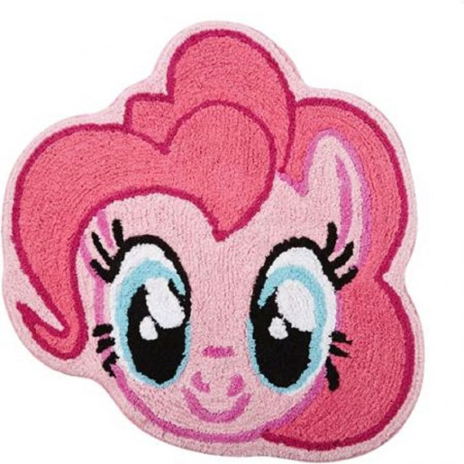 Pinky-Pony-bathroom-rug2-675x675 Cute Kids Bathroom Rugs for 2017