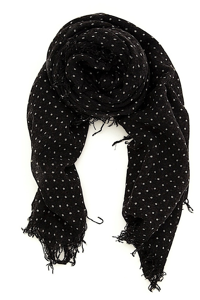 Polka-Dot-Cashmere-Scarf6 22 Scarf Trend Forecast for Fall & Winter 2017