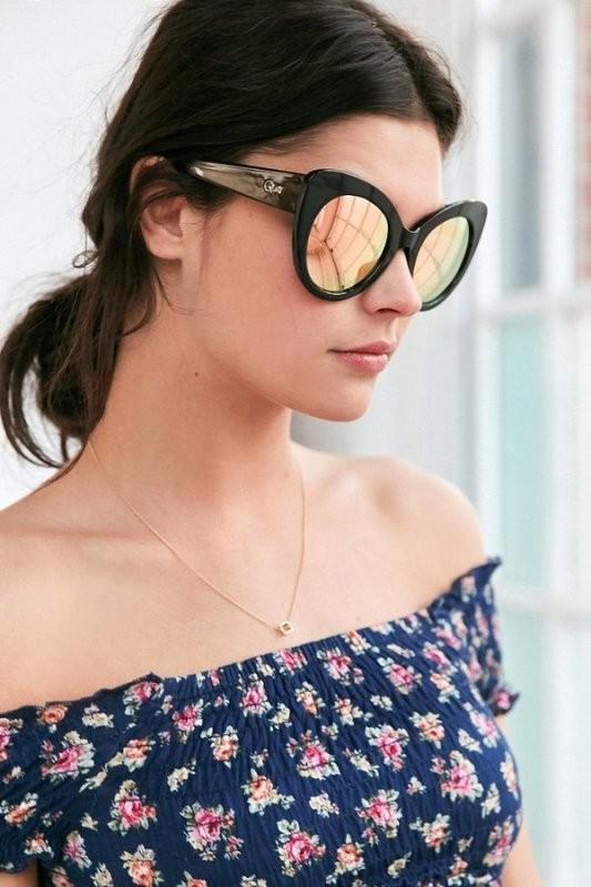 Round-Cat-Eye-Sunglasses-3 Best 10 Hottest Eyewear Trends for Men & Women 2018