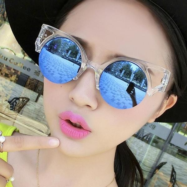 Round-Cat-Eye-Sunglasses-5 Best 10 Hottest Eyewear Trends for Men & Women 2020