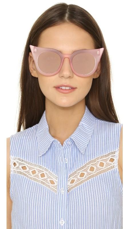 Round-Cat-Eye-Sunglasses Best 10 Hottest Eyewear Trends for Men & Women 2018