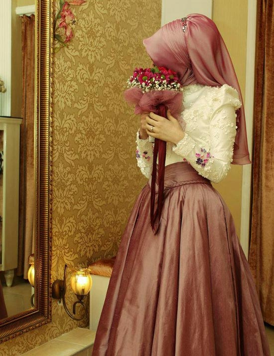 Skirt-And-Blouse-like-dress3 5 Stylish Muslim Wedding Dresses Trends for 2020