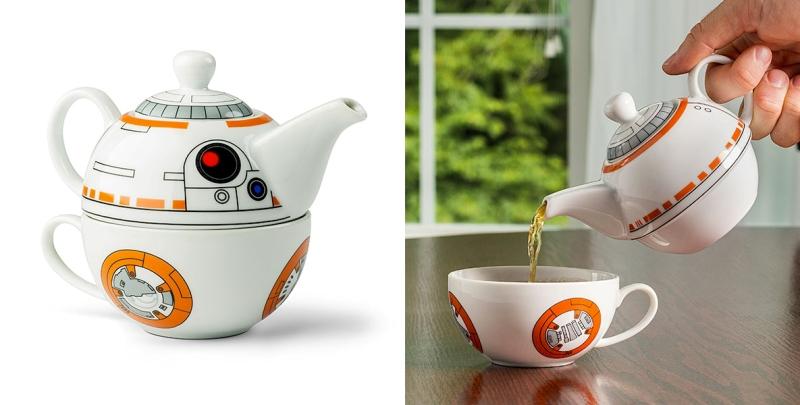 Star-Wars-BB-8-Tea-Set 50 Affordable Gifts for Star Wars & Emoji Lovers