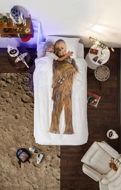 Star-Wars-Chewy-bedding 50 Affordable Gifts for Star Wars & Emoji Lovers