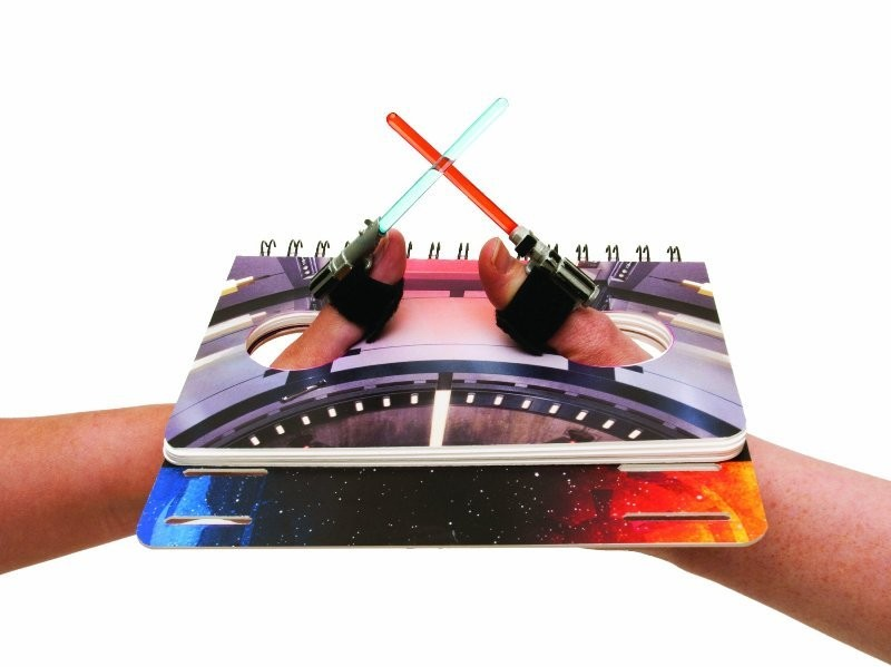 Star-Wars-Lightsaber-Thumb-Wrestling 50 Affordable Gifts for Star Wars & Emoji Lovers