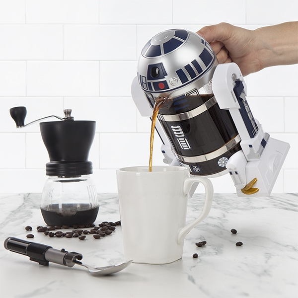 Star-Wars-R2-D2-coffee-press-maker 50 Affordable Gifts for Star Wars & Emoji Lovers