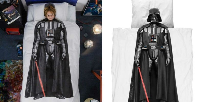 Star-Wars-darth-vader-bedding 50 Affordable Gifts for Star Wars & Emoji Lovers
