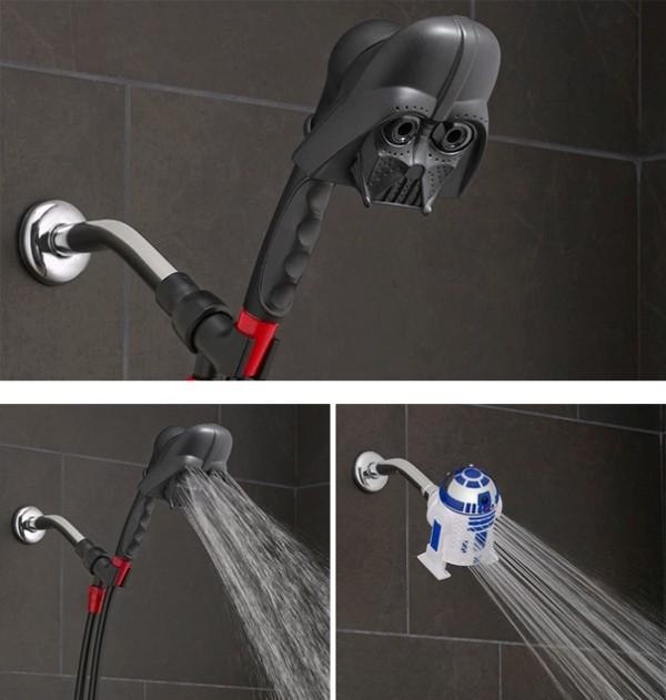 Star-Wars-showerhead 50 Affordable Gifts for Star Wars & Emoji Lovers