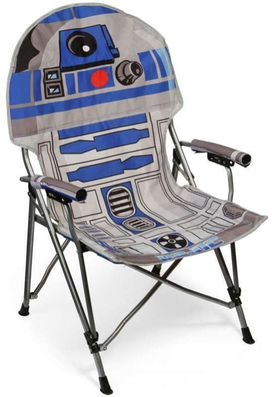 Star-Wars-themed-folding-chair 50 Affordable Gifts for Star Wars & Emoji Lovers
