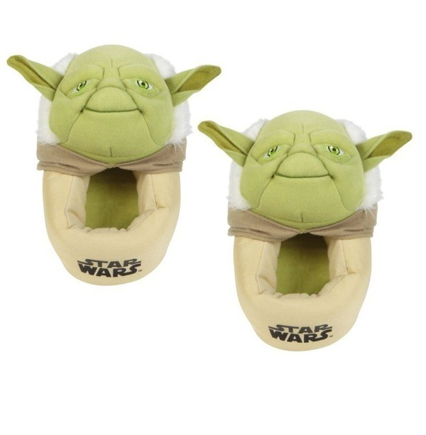 Star-Wars-themed-slippers-2 50 Affordable Gifts for Star Wars & Emoji Lovers