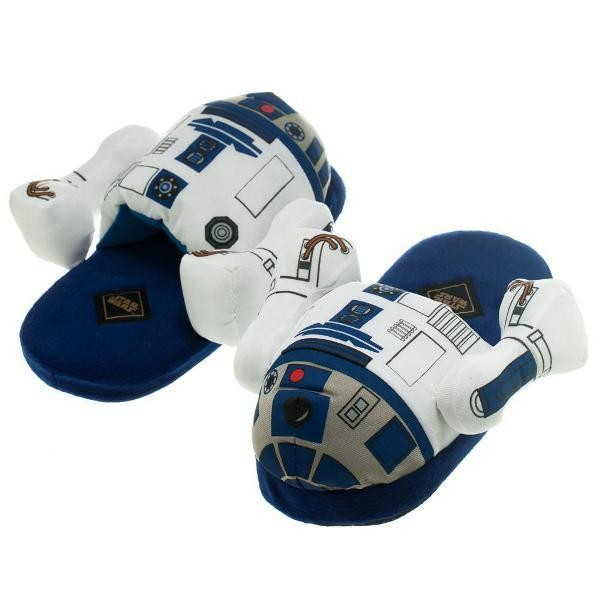Star-Wars-themed-slippers 50 Affordable Gifts for Star Wars & Emoji Lovers