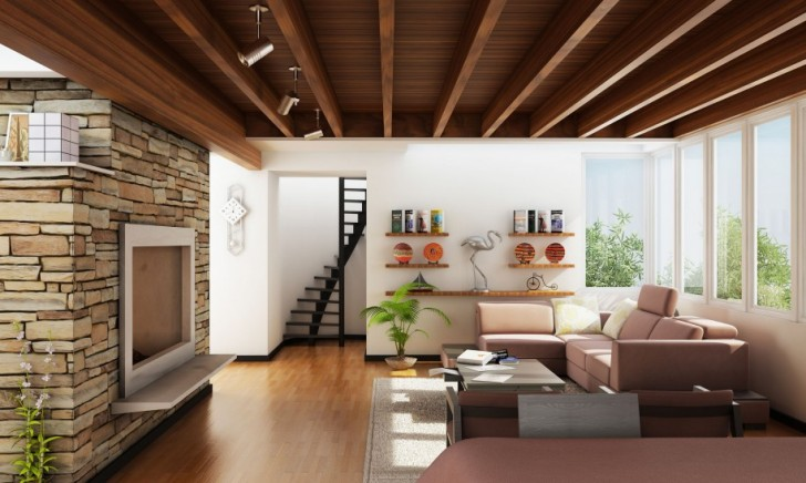 The-All-Wooden-Spectacle3 7 Ceilings Design Ideas For 2018