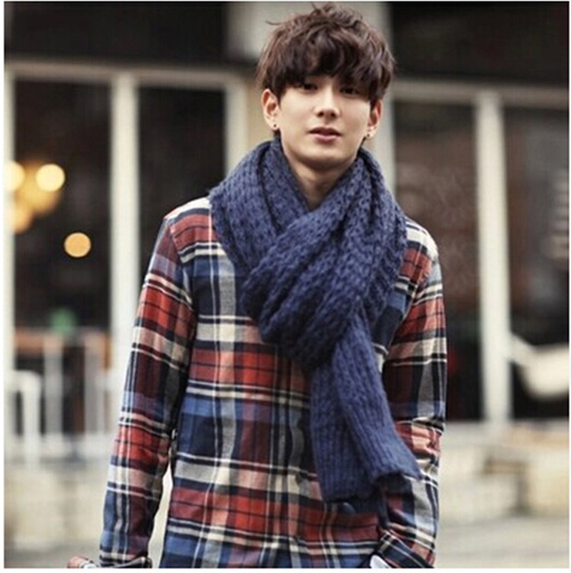 Thick-Knit-Scarf3 22+ Main Scarf Trend Forecast for Winter & Fall 2018
