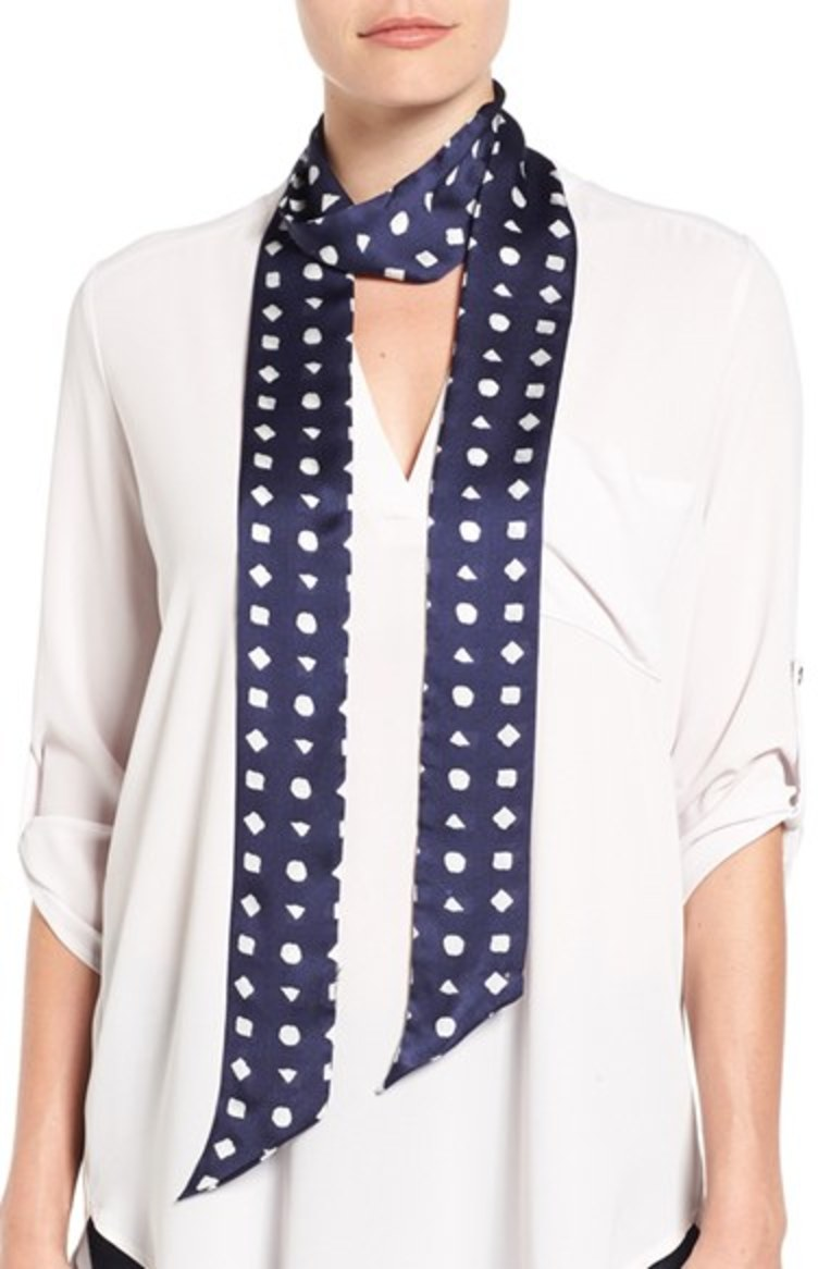 Vince-Camuto-Preppy-Geo-Scarf3 22+ Main Scarf Trend Forecast for Winter & Fall 2018