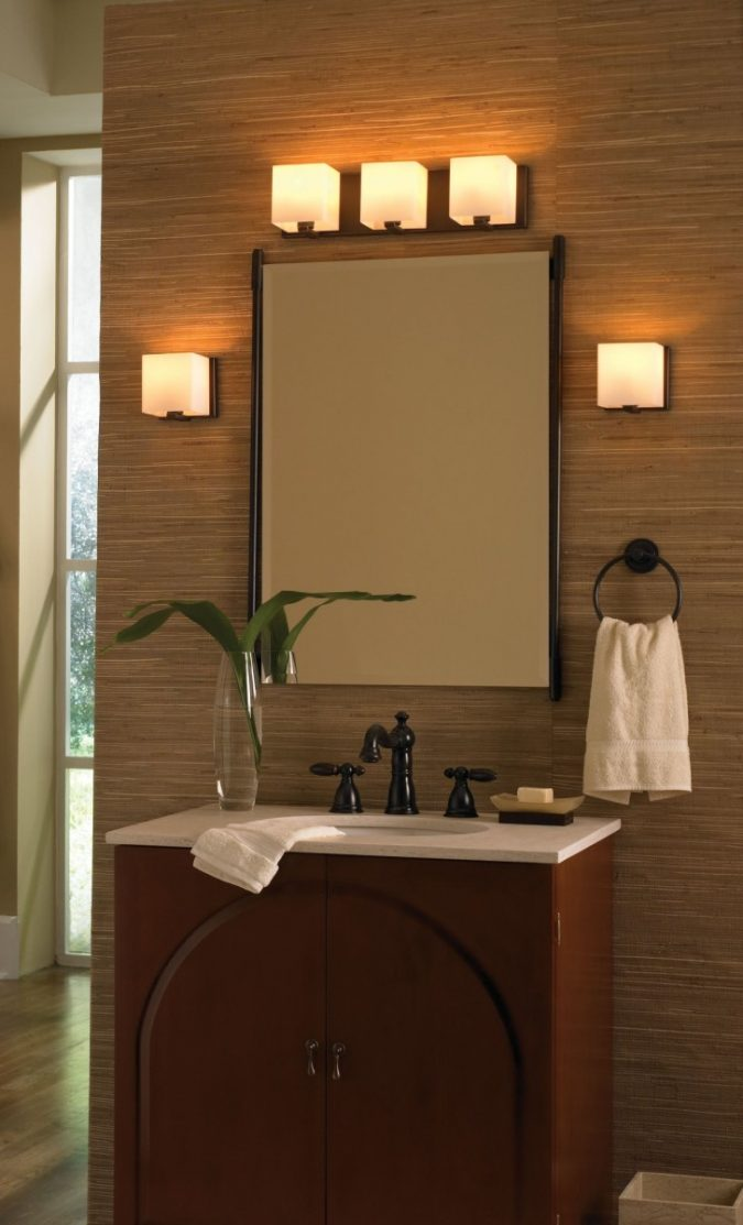 bathroom-mirror-with-built-in-lights3-675x1113 Latest Trends: Best 27+ Bathroom Mirror Designs
