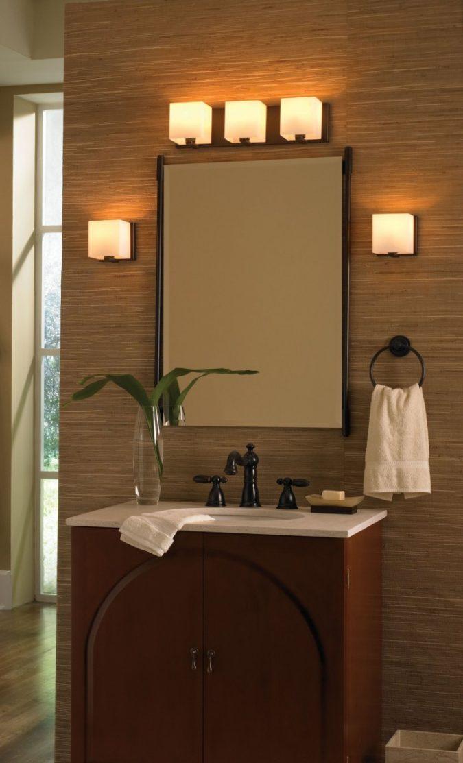 bathroom-mirror-with-built-in-lights3-675x1113 Latest Trends: Best 27+ Bathroom Mirror Designs