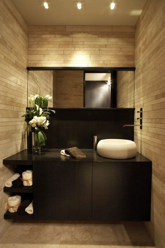 bathroom-mirror-with-built-in-lights4-675x1013 Latest Trends: Best 27+ Bathroom Mirror Designs
