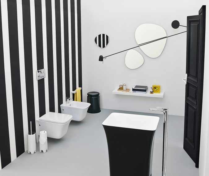 bathroom-with-coffe-cup-basin-675x570 Top 10 Modern Bathroom Sink Design Ideas