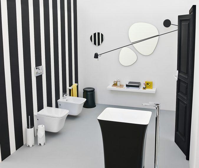 bathroom-with-coffe-cup-basin-675x570 Top 10 Modern Bathroom Sink Design Ideas