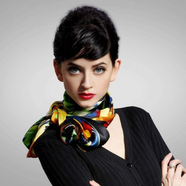 bowknot-scarves-5 20+ Catchiest Scarf Trends for Women in 2020