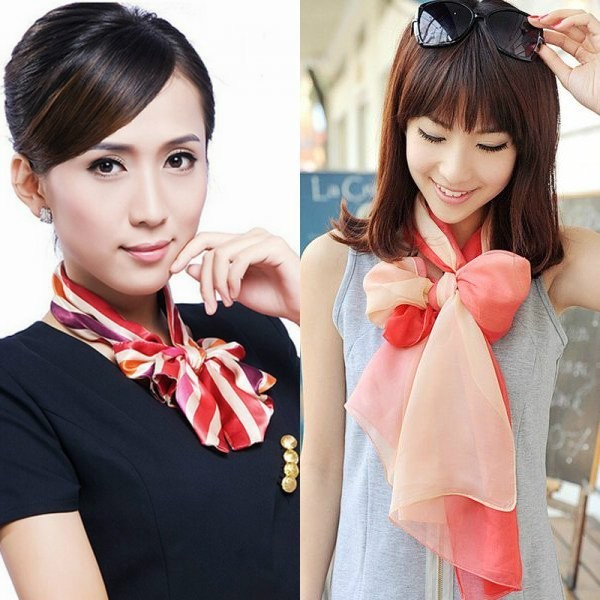 bowknot-scarves-6 20+ Catchiest Scarf Trends for Women in 2020
