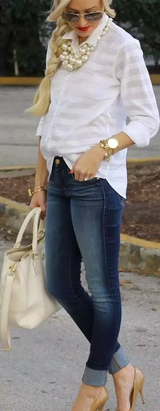 bulky-peatl-necklace 6 Main Necklace Trends For Summer 2018
