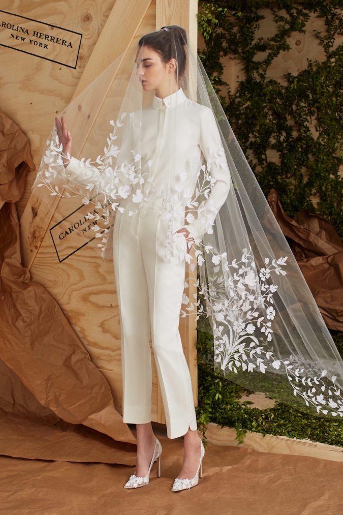 carolina-herrera-bridal-spring-2017-1-675x1013 +25 Wedding dresses Design Ideas for a Gorgeous-looking Bride in 2020