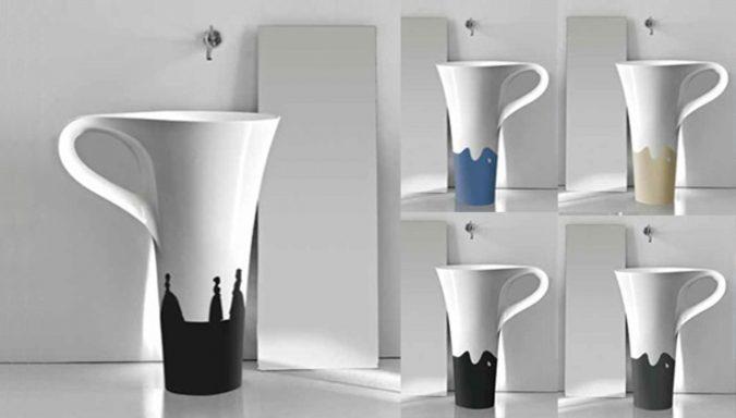 coffee-cup-sink-675x384 Top 10 Modern Bathroom Sink Design Ideas