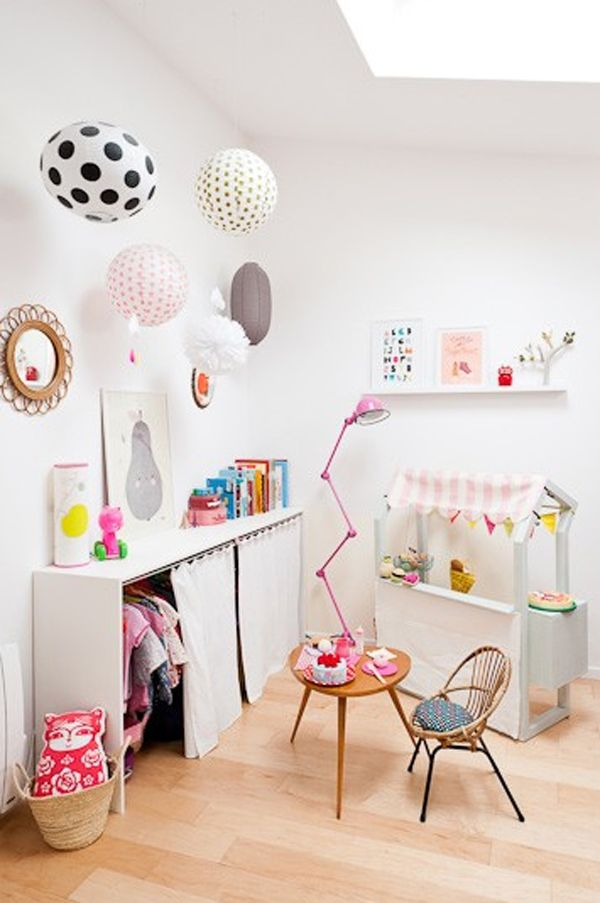 colorful-paper-lantern-lamps 20+ Best Ceiling Lamp Ideas for Kids' Rooms in 2022