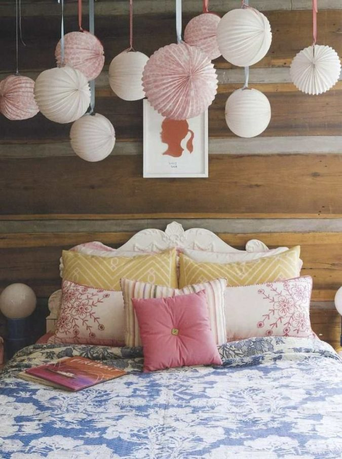 colorful-paper-lantern-lamps2-675x906 20+ Best Ceiling Lamp Ideas for Kids' Rooms in 2020