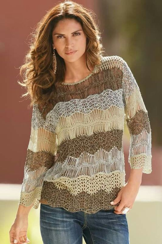 crochet-outfit-ideas-11 15+ Best Spring & Summer Fashion Trends for Women 2018