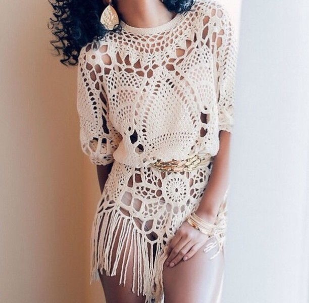 crochet-outfit-ideas-18 15+ Best Spring & Summer Fashion Trends for Women 2020
