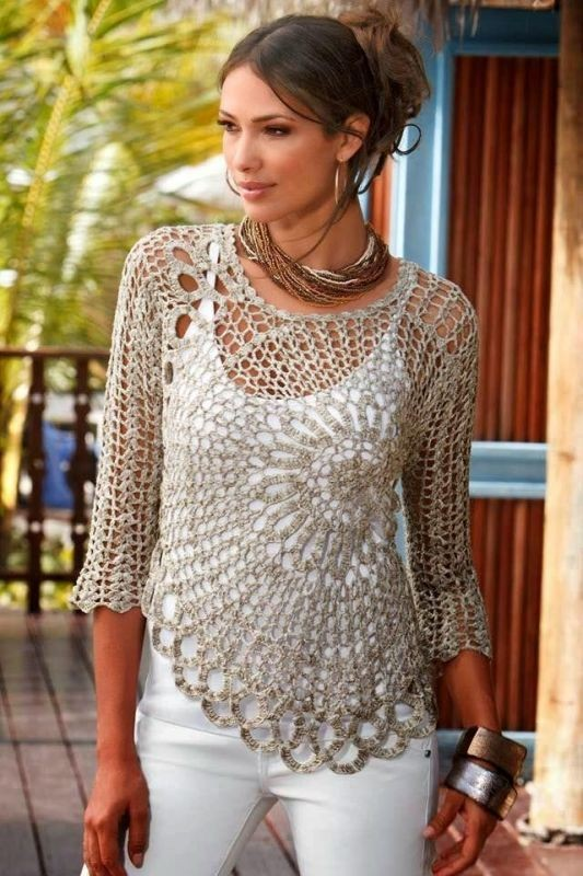 crochet-outfit-ideas-3 15+ Best Spring & Summer Fashion Trends for Women 2020