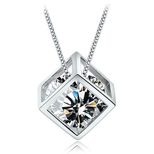 cubic-diamond-necklace 6 Main Necklace Trends For Summer 2018