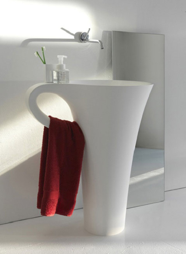 cup-of-coffee-sink Top 10 Modern Bathroom Sink Design Ideas in 2017