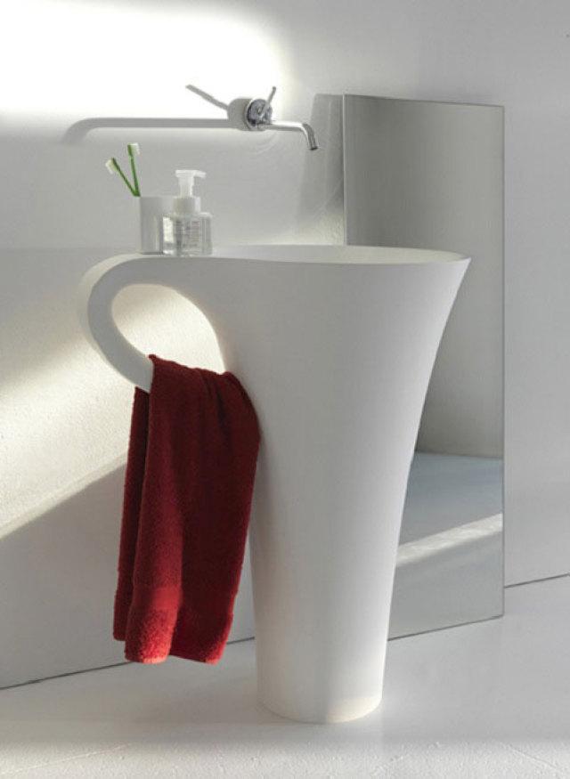 cup-of-coffee-sink Top 10 Modern Bathroom Sink Design Ideas