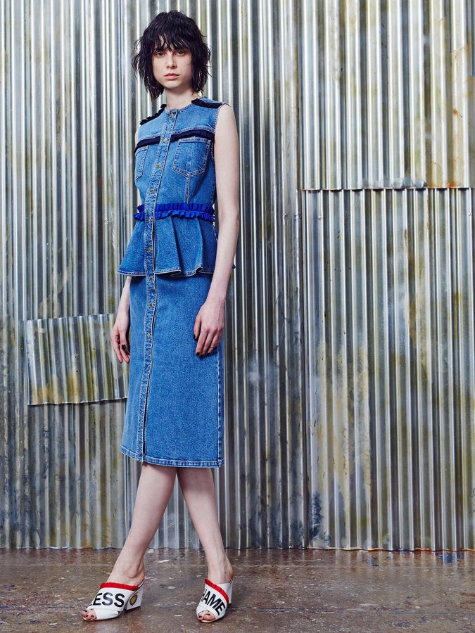 denim-house-of-holland-resort-2017-675x900 6 Main Fashion Trends of Spring & Summer 2017