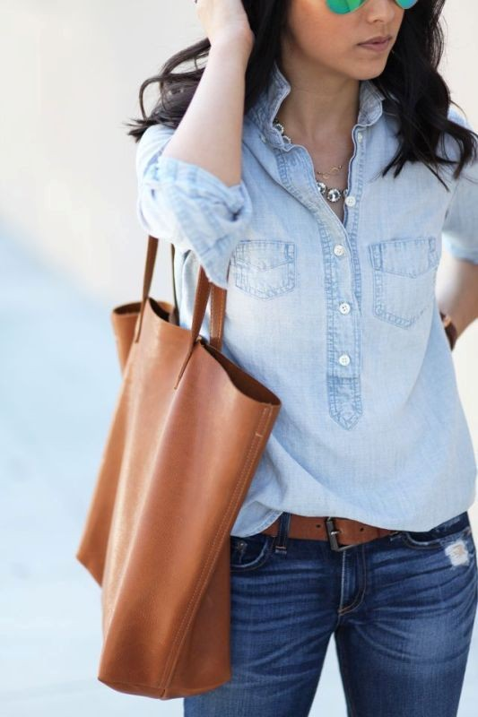 denim-outfits-2 15+ Best Spring & Summer Fashion Trends for Women 2018