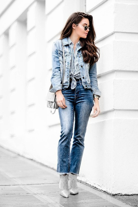 denim-outfits-3 15+ Best Spring & Summer Fashion Trends for Women 2018