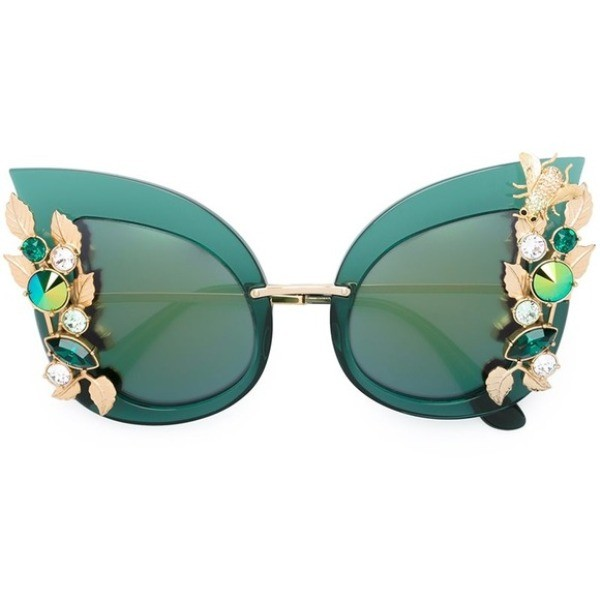 embellished-sunglasses-2 11 Hottest Eyewear Trends for Men & Women 2017