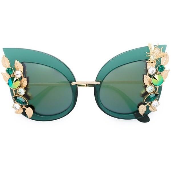 embellished-sunglasses-2 Best 10 Hottest Eyewear Trends for Men & Women 2020