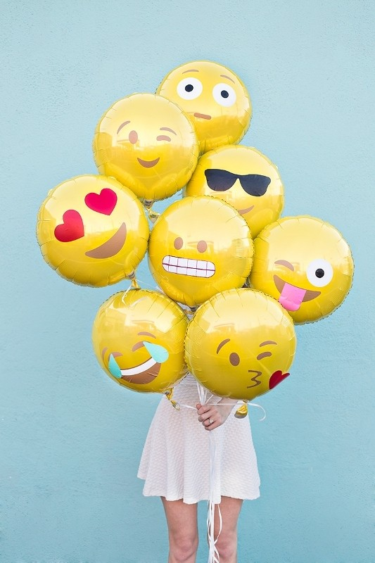 emoji-balloons 50 Affordable Gifts for Star Wars & Emoji Lovers