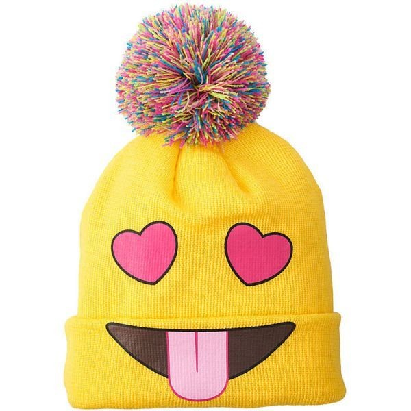 emoji-hat 50 Affordable Gifts for Star Wars & Emoji Lovers
